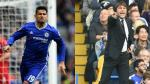 Chelsea: Diego Costa y Antonio Conte siguieron discutiendo en los vestuarios - Noticias de diego costa