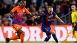 """Andrés Iniesta es un """"mago"""": la huacha a Fernandinho en Champions League - Noticias de city zabaleta"""