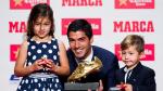 Luis Suárez y su graciosa respuesta al no marcarle al Manchester City - Noticias de willy caballero