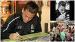 Cristian Benavente: así fue la firma de autógrafos del 'Chaval' con el Charleroi - Noticias de diego lugano
