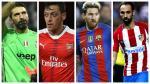 El equipo ideal de la fecha de Champions League con Lionel Messi - Noticias de uefa