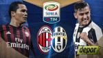 AC Milan vs Juventus: chocan hoy en San Siro por la Serie A - Noticias de carlos pardo figueroa thays