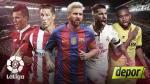 Liga Santander: programación y tabla de posiciones por la fecha 9 - Noticias de neymar