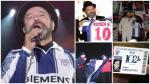 Rubén Blades en Lima, el hincha blanquiazul firmó camisetas de Alianza Lima - Noticias de souza ferreyra