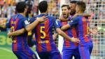 Doblete de Messi: Barcelona ganó 3-2 Valencia y es el nuevo líder de la Liga - Noticias de rodrigo messi
