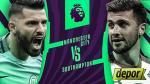 Manchester City vs. Southampton: juegan hoy por fecha 9 de Premier League - Noticias de perú vs. chile