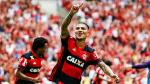 Paolo Guerrero: las mejores fotos de su doblete al Corinthians con Flamengo - Noticias de paolo guerrero