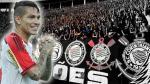 La reacción de hinchas de Corinthians al ver el doblete de Paolo Guerrero - Noticias de paolo guerrero