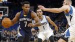 Memphis Grizzlies venció 102-98 a Minnesota Timberwolves por la NBA - Noticias de ricky rubio
