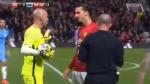 Ibrahimovic y un desafío nunca antes visto en la cara de un árbitro [VIDEO] - Noticias de willy caballero