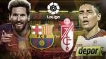 Barcelona vs. Granada: se enfrentan en Camp Nou por la Liga Santander - Noticias de javier chicharito hernanez