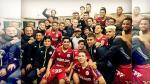 La arenga de Chale a sus jugadores para la remontada de la 'U' ante San Martín - Noticias de german leguia