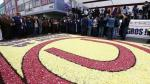 Universitario le rindió homenaje al Señor de los Milagros en procesión - Noticias de tito fernandez
