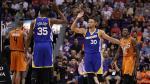 Los Golden State Warriors vencieron 106-100 a los Phoenix Suns por la NBA - Noticias de kevin durant