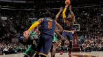 Cleveland Cavaliers vencieron 128-122 a los Boston Celtics por la NBA - Noticias de kevin james
