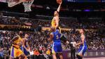Los Angeles derrotó 117-97 a Golden State Warriors de Durant y Curry por NBA - Noticias de kevin james