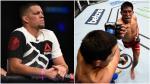 UFC: la molestia de Nate Diaz tras el triunfo de Enrique Barzola - Noticias de nate diaz