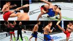 UFC: los mejores golpes de Enrique Barzola para vencer a Chris Avila - Noticias de nate diaz