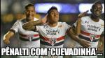 Los memes que dejó la brillante actuación de Christian Cueva en Sao Paulo - Noticias de timao