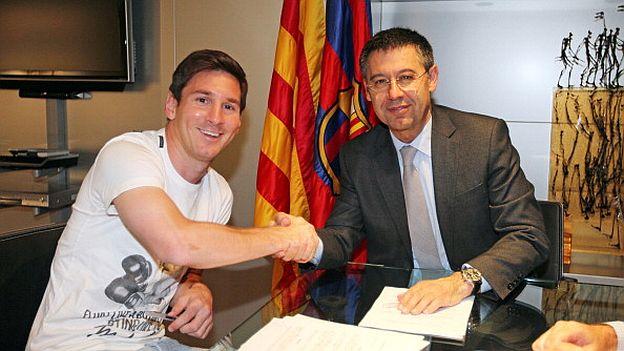 Alarma en Barcelona, ilusión en Newell's: Messi pone límites a los catalanes