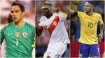El equipo ideal de la fecha 11 de Eliminatorias con tres jugadores de Perú - Noticias de sebastian martinez