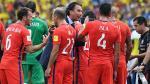 Chile tuvo quejas porque se fue la luz en vestuarios de Colombia - Noticias de juan pizzi