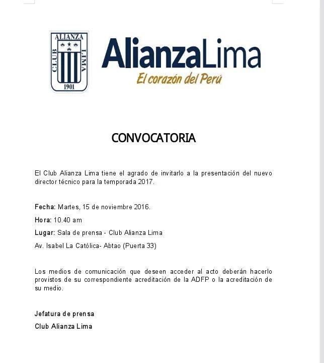Alianza Lima: lo que dijo Pablo Bengoechea al ser presentado como DT