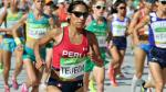 Gladys Tejeda finalizó en sexto lugar en la Maratón de Valencia - Noticias de atleta