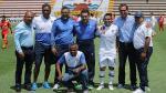 Joel Sánchez recibió homenaje de San Martín antes del inicio del partido con Huancayo - Noticias de estadio miguel grau