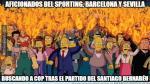 Real Madrid venció 2-1 al Sporting Gijón: los mejores memes del partido - Noticias de lluvias intensas