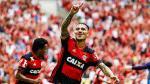 ¡A la Libertadores! Con gol de Guerrero, Flamengo venció 2-0 Santos por Brasileirao - Noticias de timao