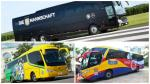 Como en el paraíso: los buses que transportan a selecciones de fútbol - Noticias de federaciones deportivas