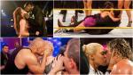WWE: revive los besos más apasionados que incendiaron el cuadrilátero - Noticias de aj lee