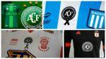 Los clubes que llevarán el escudo de Chapecoense en su camiseta - Noticias de periodistas deportivos