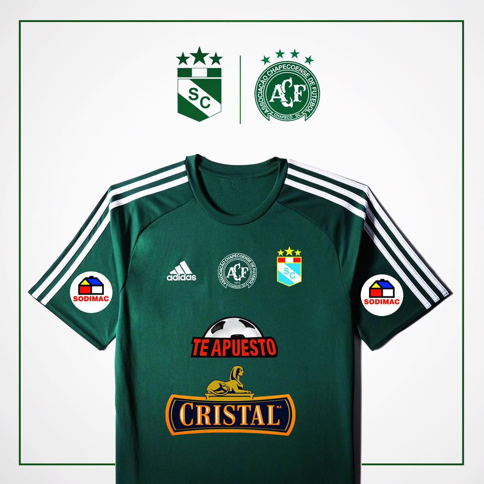 Sporting Cristal  mira la camiseta verde que utilizará en homenaje ... 392d61877941b