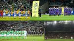 Chapecoense: los minutos de silencio en distintos estadios del mundo - Noticias de copa francia