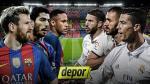 Real Madrid vs. FC Barcelona: toda la información del clásico en Camp Nou - Noticias de carolina anda vassallo