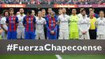 Barcelona ante Real Madrid: así fue el homenaje de ambos equipos al Chapecoense - Noticias de accidente