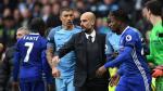 Pep Guardiola no saludó a Cesc Fabregas tras la derrota del Manchester City - Noticias de josep guardiola