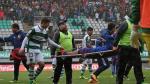 Jugador sufrió fractura de tibia y peroné tras esta durísima falta [VIDEO] - Noticias de sebastian castaneda