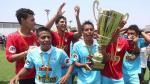 Sporting Cristal se coronó campeón de la Copa Modelo Centenario - Noticias de ahmed ahmed
