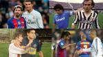 Como Messi y Ronaldo: cuando grandes rivales muestran su amistad en el campo - Noticias de cristiano ronaldo