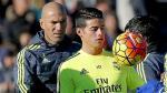 James Rodríguez se ha convertido en un problema para Zidane: esta es la razón - Noticias de lucas rodriguez