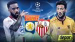 Sevilla vs. Lyon: hoy se miden por la fase de grupos en Champions League - Noticias de mercado de pases