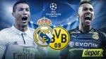 Real Madrid vs. Borussia Dortmund hoy en el Bernabéu por Champions League - Noticias de peru vs. chile