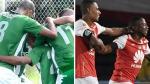 Atlético Nacional vs. Santa Fe: hoy por semifinales de Liga Águila - Noticias de yaconi santa cruz