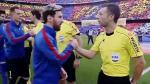 """Lo que no supiste del clásico español: este árbitro fue suspendido """"por amistoso"""" - Noticias de javier mascherano"""