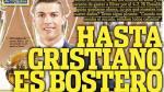 Cristiano es bostero: la portada que ironiza sobre su cuarto Balón de Oro - Noticias de france football