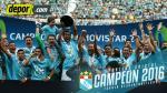 Sporting Cristal campeón del Descentralizado 2016: empató 0-0 con Melgar en la final - Noticias de jose arias