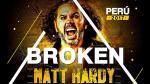 WWE: excampeón Matt Hardy visitará Lima en espectacular evento - Noticias de eduardo dibos